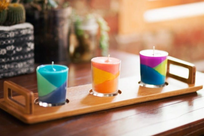 DIY Candles from Crayons
