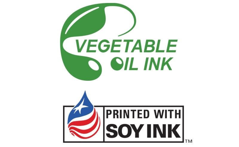General logo for vegetable oil ink and Soy Seal