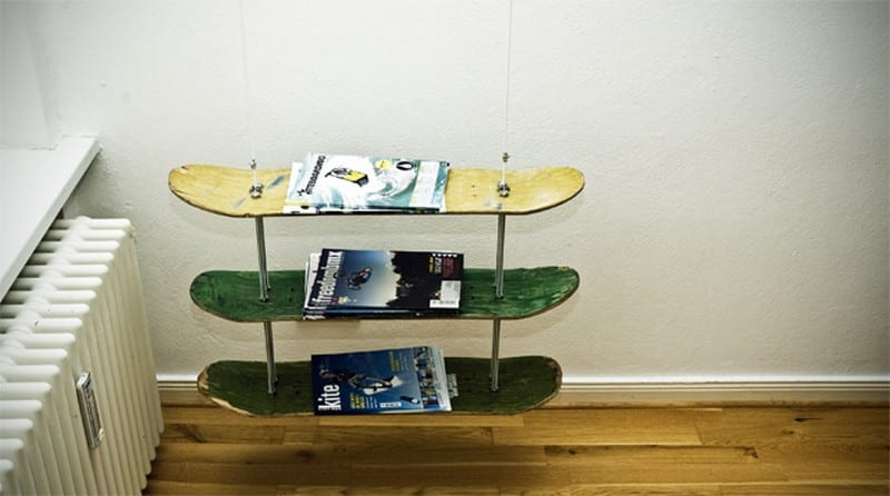 Upcycled Skateboard
