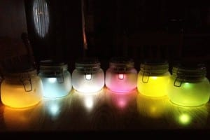 DIY Solar Lights in Jars