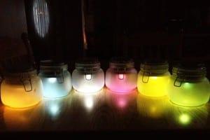 DIY Solar Lights in Jars