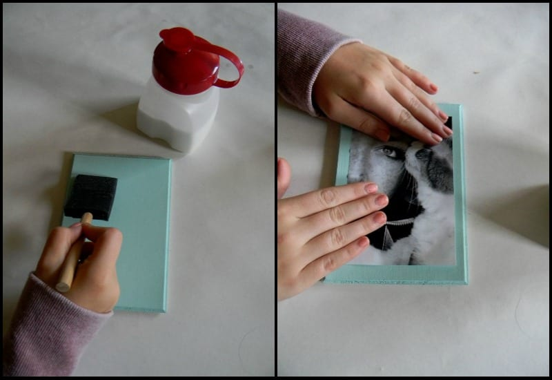 Steps on how to transfer photos on wood