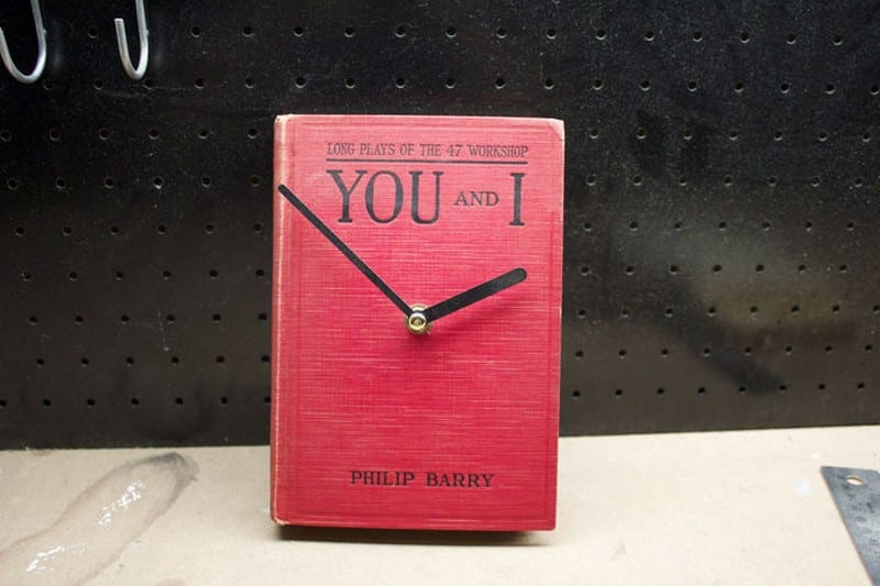 DIY Book Clock