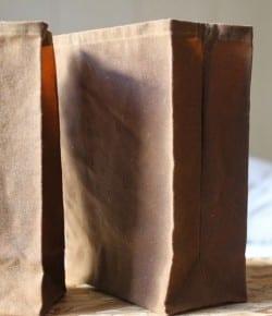 DIY Brown Lunch Bag