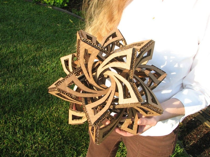 Cardboard Craft Frabjous