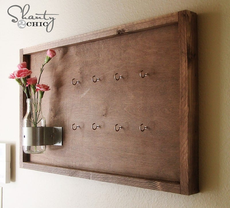 Creative Key Holder Ideas Easy Diy For All