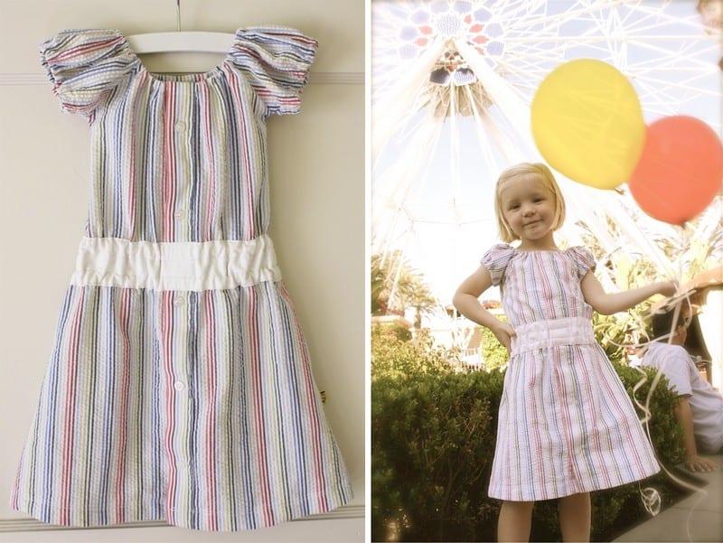 2009. Усли сорочка стала вашему мужу мала, то не спешите ее выбрасывать - ее легко можно переделать в детское платье