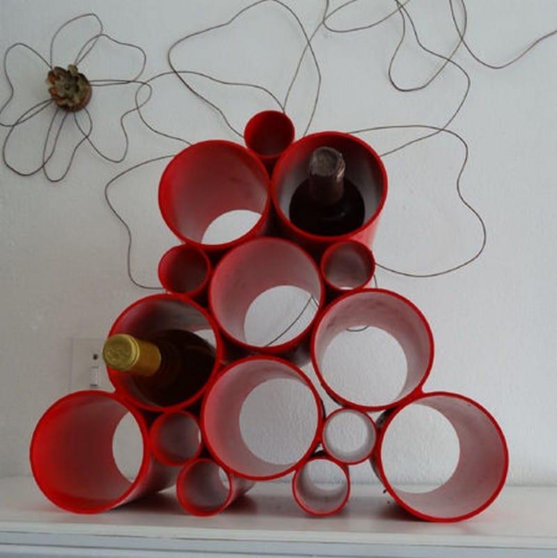 Diy Wine Rack Pvc Pipe These Pvc Pipe Wine Racks Are