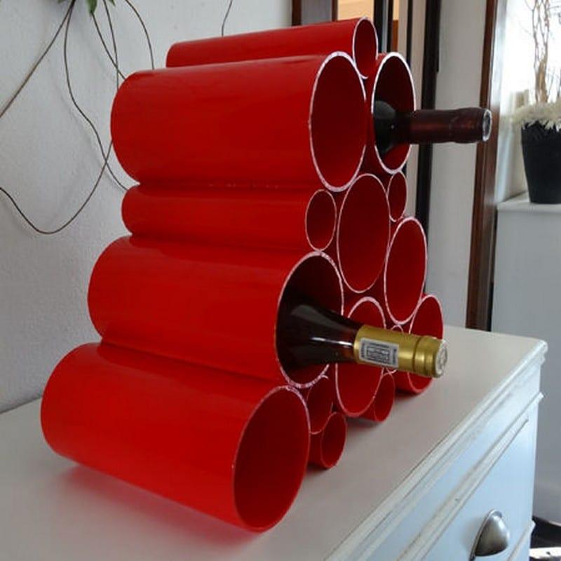 PVC Wine Rack