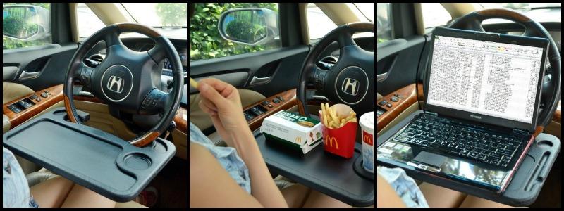 Steering Wheel Desk